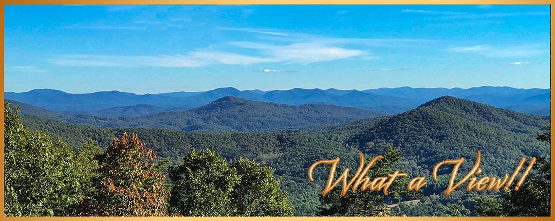 What A View, North Carolina Mountain Cabin Rental